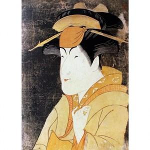 東洲斎写楽「中山富三郎の宮城野」【窓飾り】