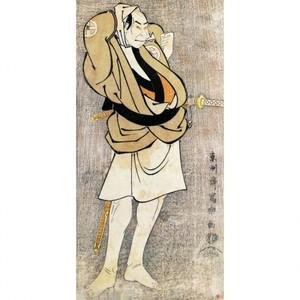 東洲斎写楽「三代目大谷鬼次の川島治部五郎」【窓飾り】