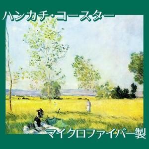 モネ「草原の夏」【ハンカチ・コースター】