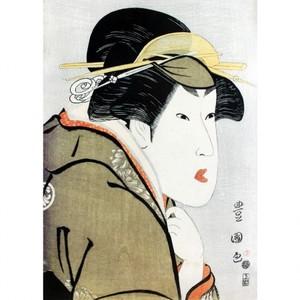 歌川豊国「三代目瀬川菊之丞」【窓飾り】