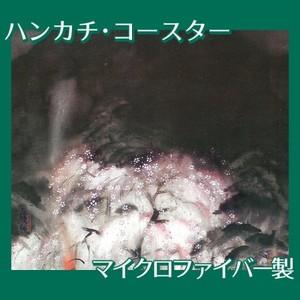 冨田溪仙「祇園夜桜」【ハンカチ・コースター】