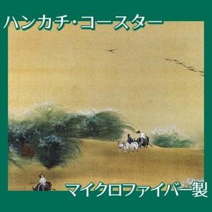 横山大観「月下牧童」【ハンカチ・コースター】