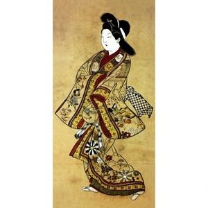 杉村治兵衛「立美人図」【窓飾り】