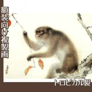 橋本関雪「猿」【複製画:トロピカル】