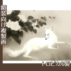 橋本関雪「夏夕」【複製画:トロピカル】