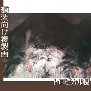 冨田溪仙「祇園夜桜」【複製画:トロピカル】