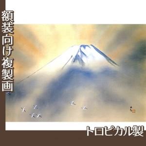 横山大観「乾坤輝く2」【複製画:トロピカル】