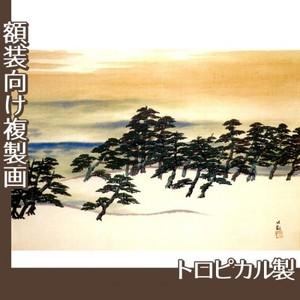 横山大観「白砂青松」【複製画:トロピカル】