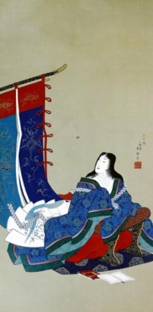 歌川芳輝「衣通姫図」【窓飾り】