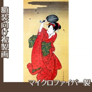 歌川豊国「蛍狩美人図」【複製画:マイクロファイバー】