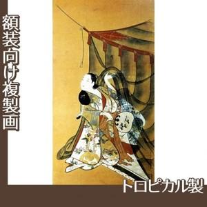 懐月堂安度「蚊帳美人図」【複製画:トロピカル】
