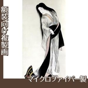 橋本周延「見立女三宮図」【複製画:マイクロファイバー】