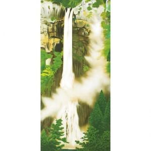 小林柯白「那智滝」【窓飾り】