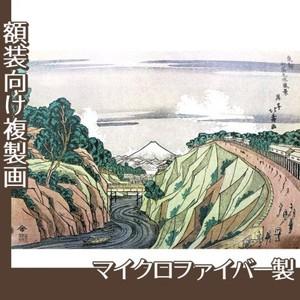 葛飾北斎「東都御茶之水風景」【複製画:マイクロファイバー】