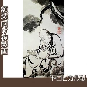 伊藤若冲「十六羅漢図(六幅) 六」【複製画:トロピカル】