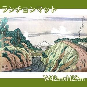 葛飾北斎「東都御茶之水風景」【ランチョンマット】