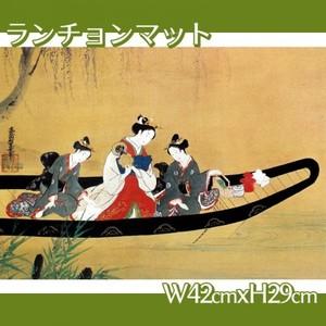 西村重長「舟中の遊女と禿図」【ランチョンマット】
