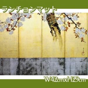 酒井抱一「桜図屏風(右隻)」【ランチョンマット】