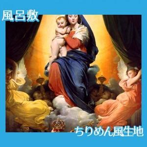 アングル「ルイ13世の誓願」【風呂敷】