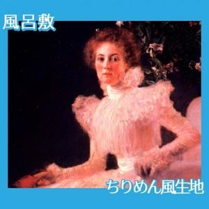 クリムト「ソーニア・クニップスの肖像」【風呂敷】