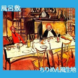佐伯祐三「カフェ・レストラン」【風呂敷】