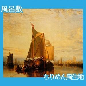 ターナー「風を待つ郵便船」【風呂敷】