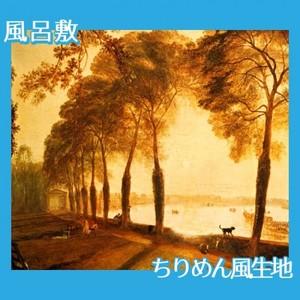ターナー「モートレイクの公園」【風呂敷】