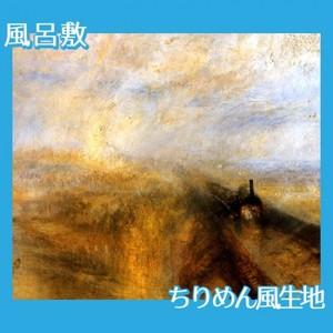 ターナー「雨、蒸気.スピード:グレート・ウェスタン鉄道」【風呂敷】