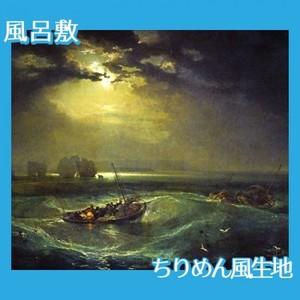 ターナー「海の猟師たち」【風呂敷】