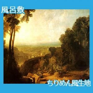 ターナー「小川を渡る」【風呂敷】