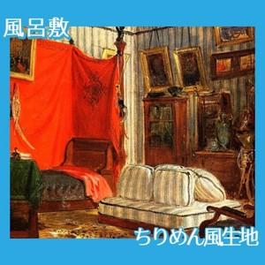 ドラクロワ「モルネー伯爵の居室」【風呂敷】