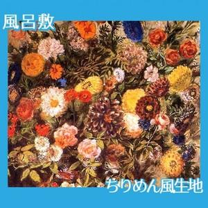 ドラクロワ「花」【風呂敷】