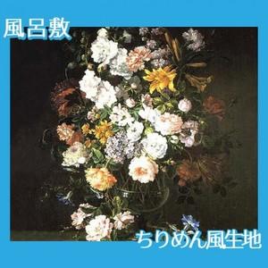 バティスト・モノワイエ「花瓶の花」【風呂敷】