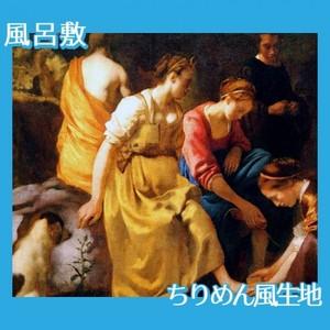 フェルメール「ダイアナとニンフたち」【風呂敷】