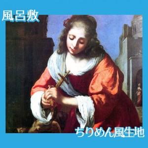 フェルメール「聖女プラクセディス」【風呂敷】