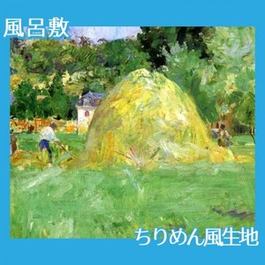 モリゾ「ブージヴァルの干し草」【風呂敷】