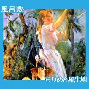 モリゾ「桜の木(さくらんぼうの木)」【風呂敷】