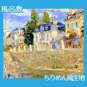 モリゾ「ブージヴァルの川岸」【風呂敷】