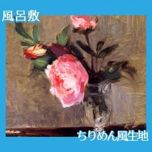モリゾ「牡丹」【風呂敷】