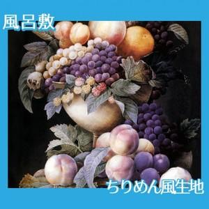 ルドゥーテ「器に盛られたブドウ」【風呂敷】