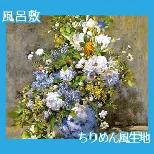 ルノワール「春の花束」【風呂敷】