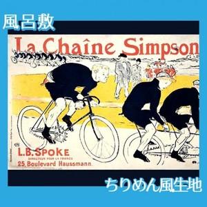 ロートレック「シンプソン」【風呂敷】