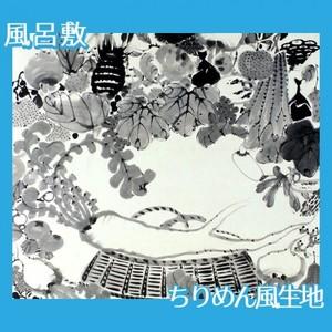 伊藤若冲「果蔬涅槃図」【風呂敷】