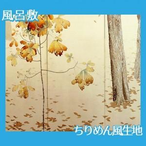 菱田春草「落葉(左)」【風呂敷】