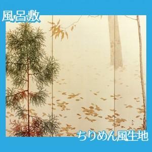 菱田春草「落葉(右)」【風呂敷】