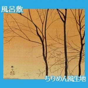 菱田春草「暮色」【風呂敷】