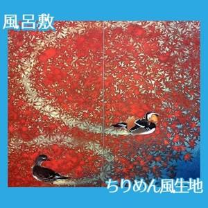 川端龍子「愛染」【風呂敷】