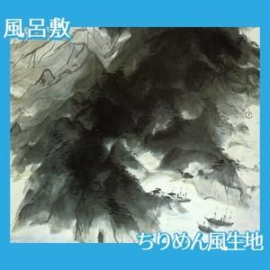 川端龍子「伊豆の国」【風呂敷】