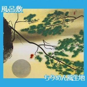 速水御舟「円かなる月」【風呂敷】