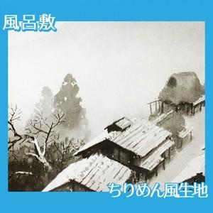 川合玉堂「月天心」【風呂敷】